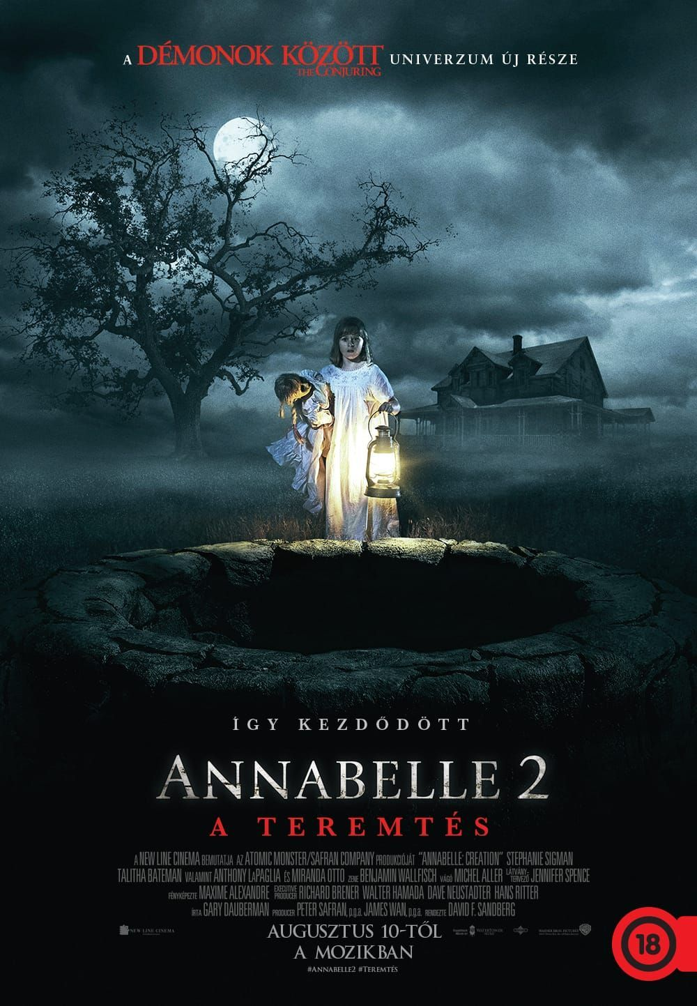 Annabelle 2. - A teremtés (Annabelle 2: The Creation)